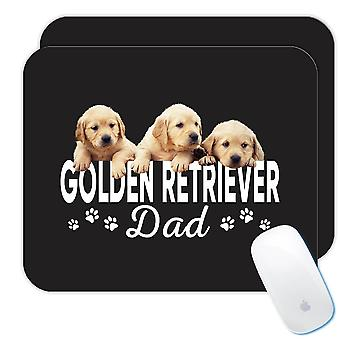 هدية Mousepad : الذهبي المسترد أبي الكلب