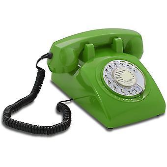 Wokex Opis 60er Jahre Kabel mit französischm Post PTT Pappeinleger: Retro Telefon im sechziger Jahre
