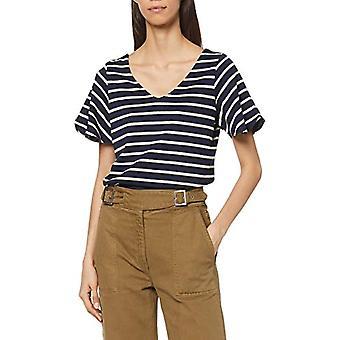 edc by Esprit 039CC1K013 T-Shirt, 400/Navy, XS Women
