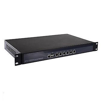 1u palomuuri reitittimen laitteisto 6 gigabittiä 82574l Lan