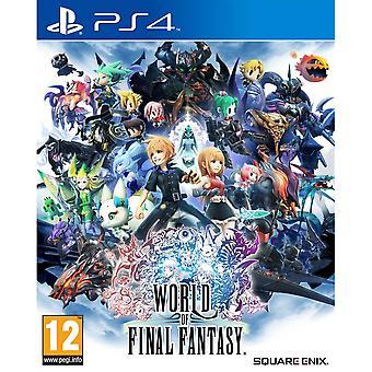 World of Final Fantasy PS4 spel
