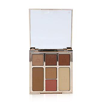 Instant look of love look in a palette (powder+blush+highlight+bronzer+3x eye color) # glowing beauty 263951 21.5g/0.75oz