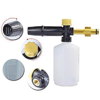 High Pressure Snow Foam Bottle, Gun Nozzle Car Wash Soap Shampoo Sprayer,