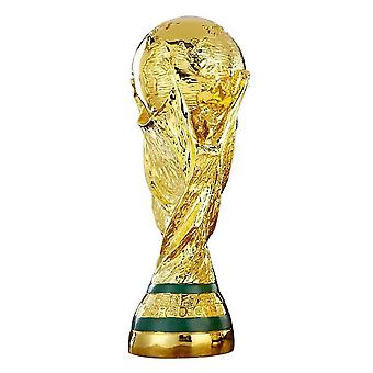 35cm 13.78 Inch 1:1 World Cup Football Trophy Hercules Cup Trophy Souvenirs Football Fan Gift Home Office Decoration
