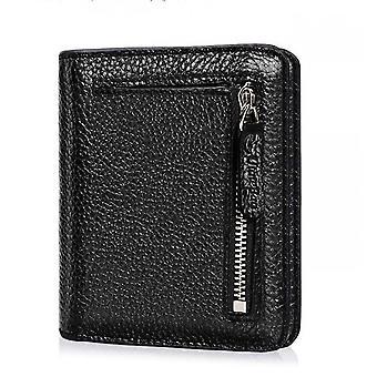Wallet Rfid Genuine Leather Slim Purse Multi Card Pocket For Women