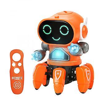 Sei artigli elettrici danzanti robot giocattoli luci musica educazione precoce bambini regali