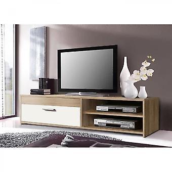 Tv Cabinet 120 Cm Oak / White
