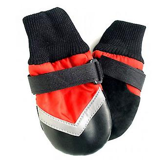 """Fashion Pet Extreme All Weather Waterproof Dog Boots - Large (4.25"""" Paw)"""