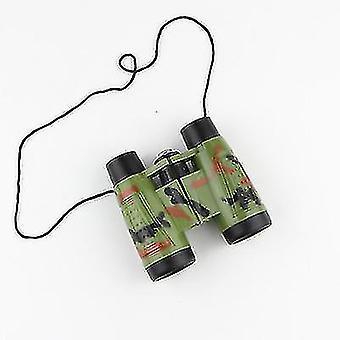 Qian Jumelles Télescope pour enfants Jouet Camouflage Jumelle