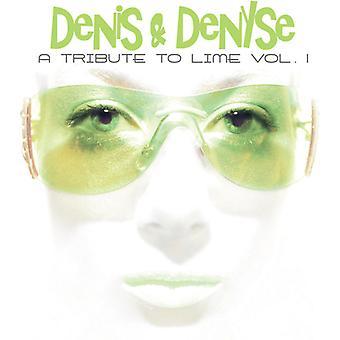 Denis & Denyse - eerbetoon aan kalk Vol. 1 [CD] USA importeren