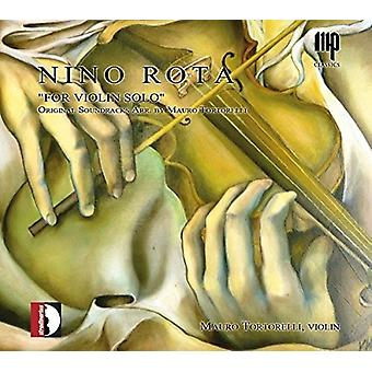 Mauro Tortorelli - Nino Rota for Violin Solo [CD] USA import
