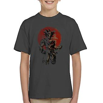 Rising Saiyan Son Goku Dragon Ball Super Kid's T-Shirt