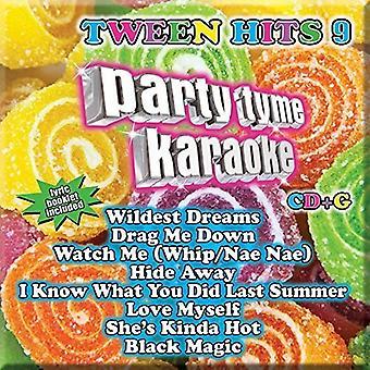 Party Tyme Karaoke - Ptk-Tween Hits 9 [CD] USA import