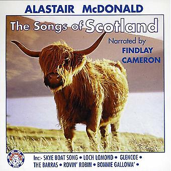 Alastair McDonald - Songs of Scotland [CD] USA import