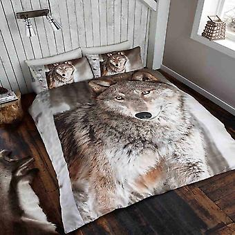 Wolf Duvet Cover Bedding Set