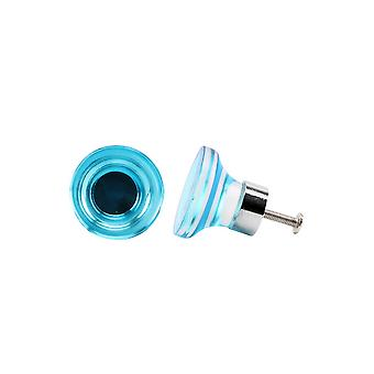 CGB Giftware Teal Acrylic Drawer Handle