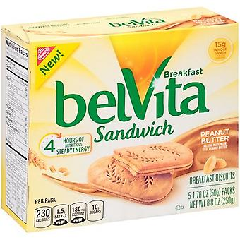 Belvita Breakfast Sandwich Peanut Butter