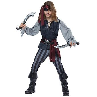 Sea Scoundrel Cutthroat Pirate Captain Jack Sparrow Book Week Boys Costume