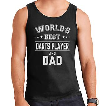 Worlds Best Darts Player And Dad Men's Vest