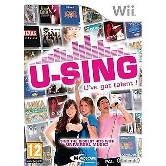 U-Sing (Wii)-fabriken förseglad