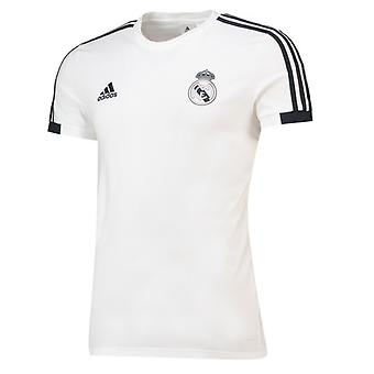 2018-2019 Real Madrid Adidas Training Tee (White)
