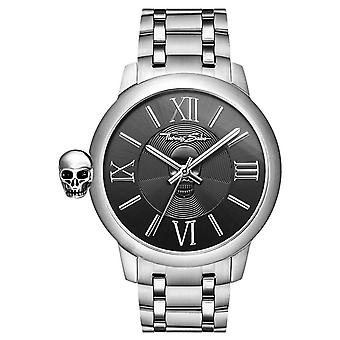 Thomas Sabo Mens Rebel With Karma Stainless Steel Skull WA0304-201-203