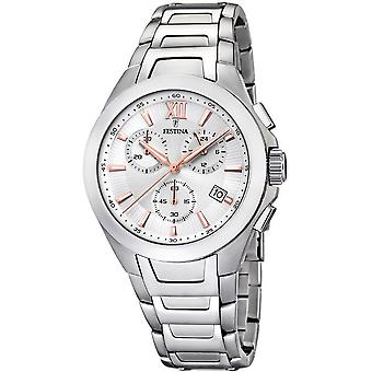 Festina mens watch sports chronograph F16678-a