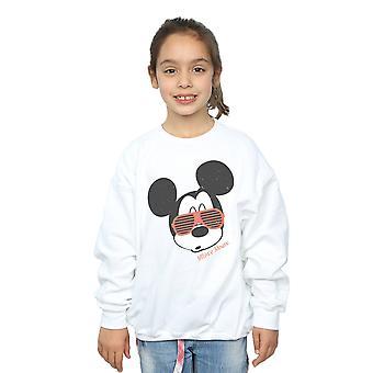 Disney Mädchen Mickey Mouse Sonnenbrille Sweatshirt