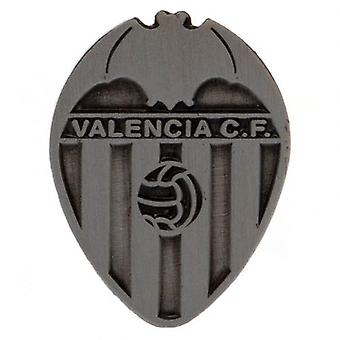 Valencia C.F. Badge Antique Silver
