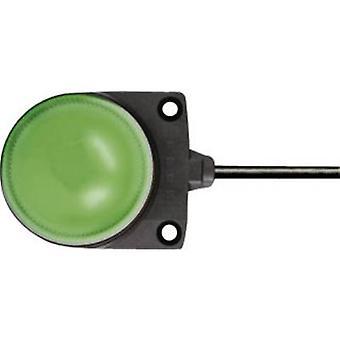 Idec Light LED LH1D-D2HQ4C30G LH1D-D2HQ4C30G Green Non-stop light signal 24 V DC, 24 V AC