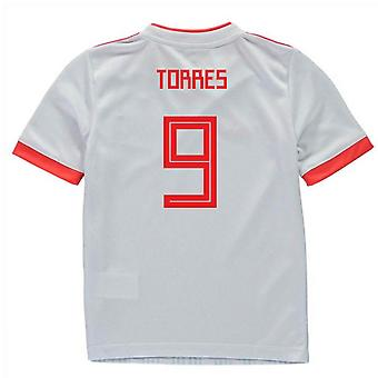 2018-2019 Spain Away Adidas Mini Kit (Torres 9)
