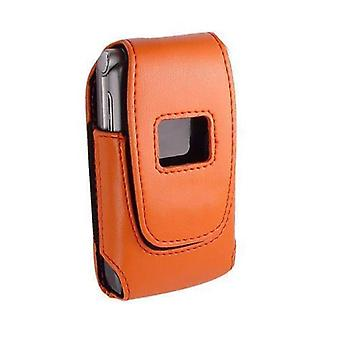 Technocel Plastic Shield Case for Motorola V3, Smasung A900 (Orange Blossom)