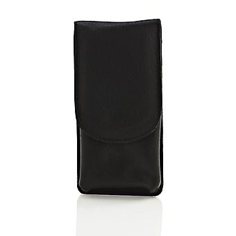 Timor Leather Safety Razor Pouch