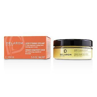 Delarom Orange Sugar Body Scrub - 150ml/5oz