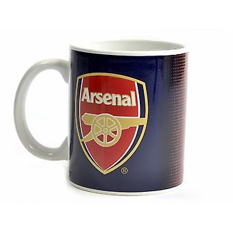 Arsenal FC Halftone 0.3kg Boxed Mug