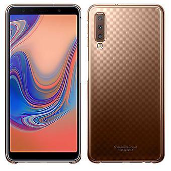 Samsung градации покрытия золото AA750CFEGWW EF для галактики A7 A750F 2018 сумка чехол