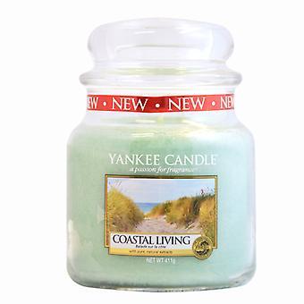 Yankee Kerze klassische Medium Jar Küsten leben Kerze 411g