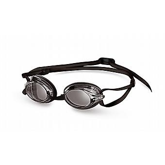 Head Venom Race Swimming Goggle - Smoke Lenses - Black