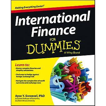 International Finance For Dummies by Ayse Evrensel - 9781118523896 Bo