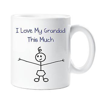 Jeg elsker min morfar dette meget drenge krus