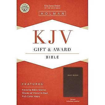 KJV GIFT AWARD BROWN LEATHERLIKE (Bible Kjv)