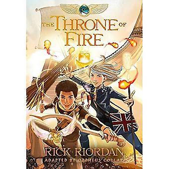 Kane Chronicles, den, bok två tronen av brand: den grafiska romanen