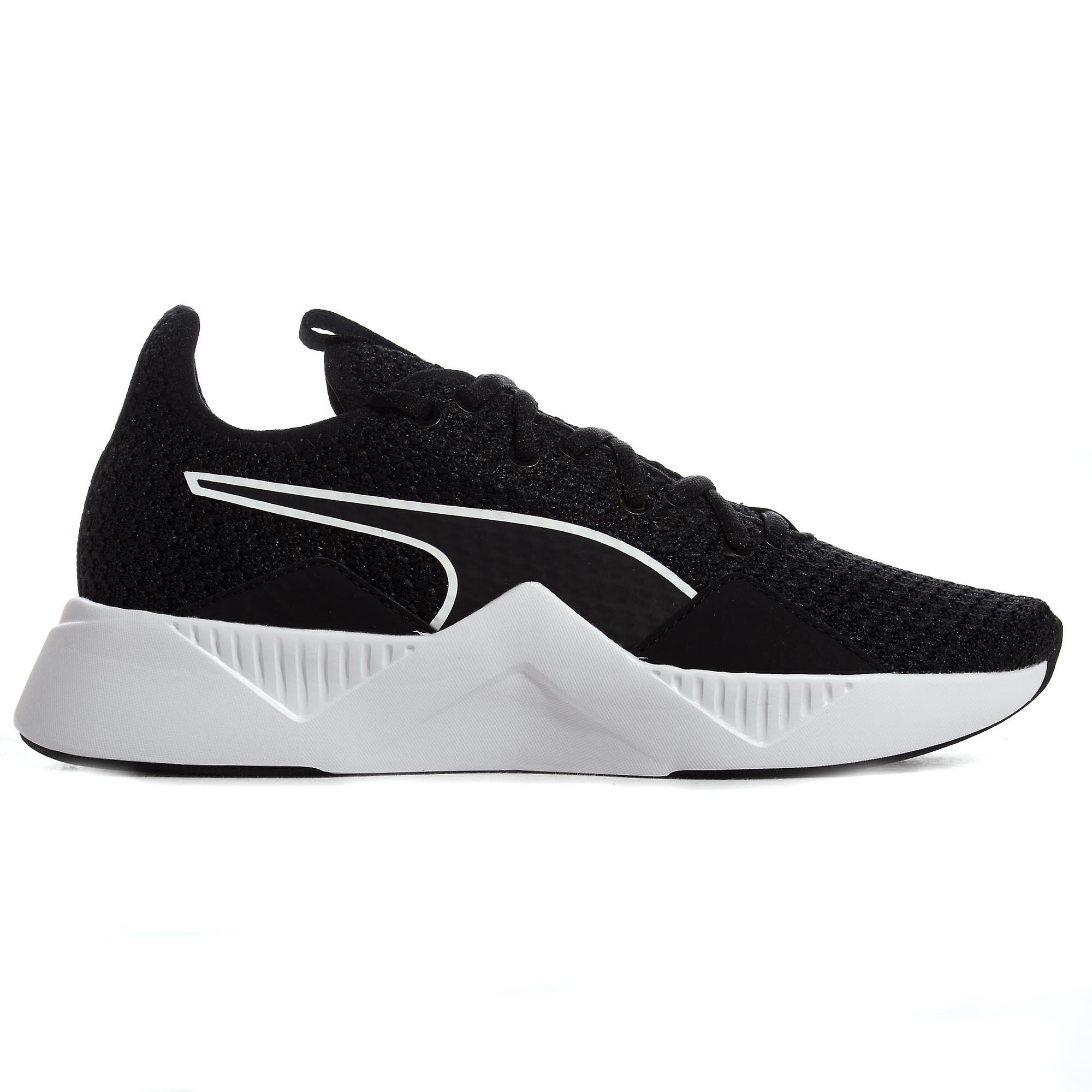 Puma Incite FS Womens Exercise Fitness Training Trainer Shoe Black/White