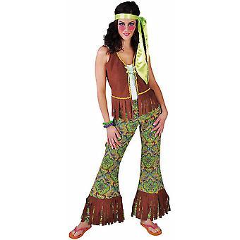 Vrouwen kostuums vrouwen zomer van de liefde hippie
