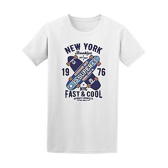 Brooklyn New York Skateboarding Tee homme-Image de Shutterstock