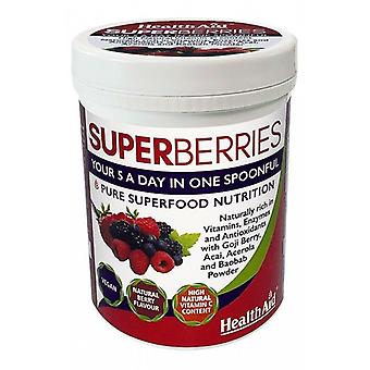 Terveysapu Super Berries Powder, 180g