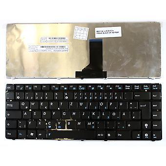 Asus MP-09Q56D0-528 Black Frame Black German Layout Replacement Laptop Keyboard
