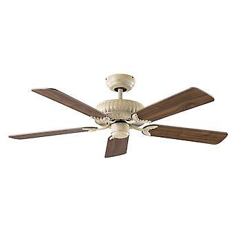 """Ventilatore a soffitto basso consumo energetico Eco imperiale bianco 132cm/52 """""""