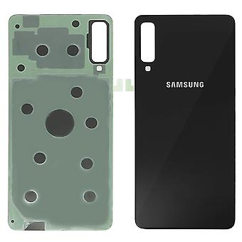 Housing part back cover, for Samsung Galaxy A7 2018 – black