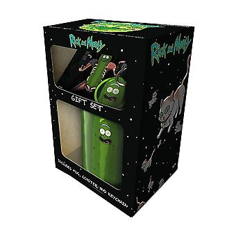 Rick and Morty Pickle Rick Gift Set